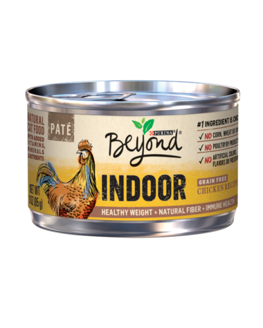 Purina Beyond Indoor Chicken Recipe Paté Wet Cat Food