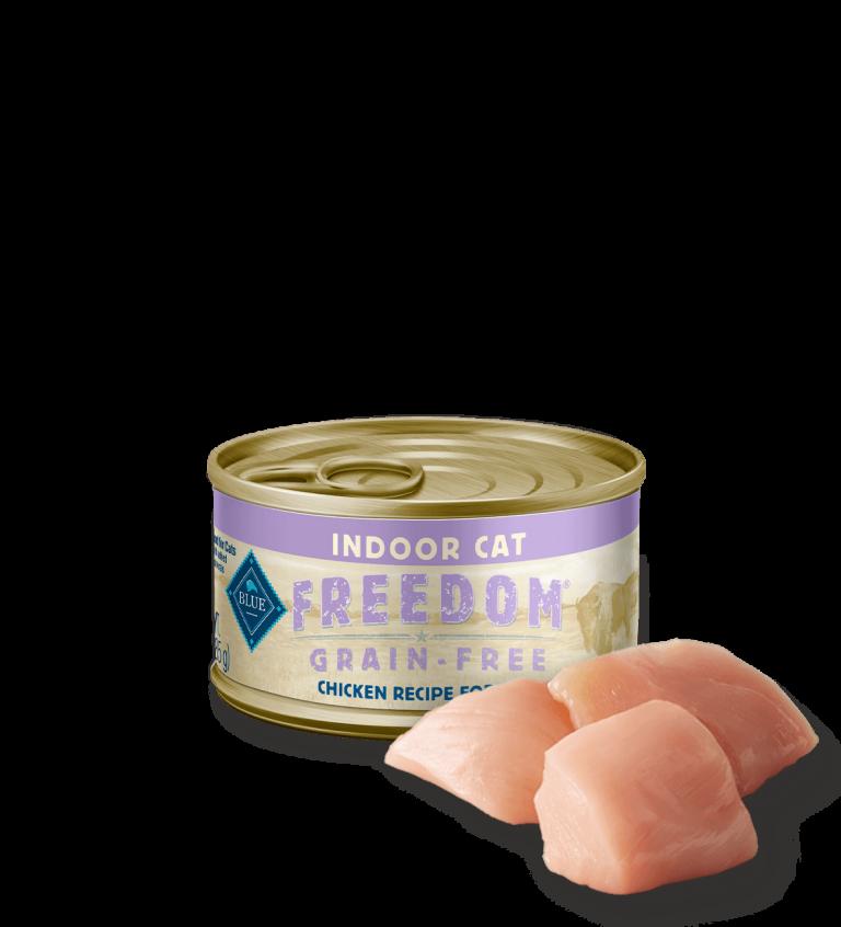 Blue Buffalo Freedom Grain-Free Indoor Chicken Recipe Wet Cat Food