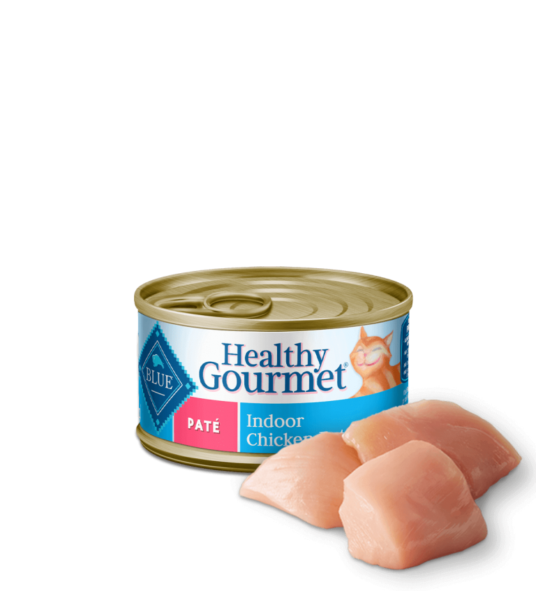 Blue Buffalo Healthy Gourmet Paté Indoor Chicken Entrée Wet Cat Food