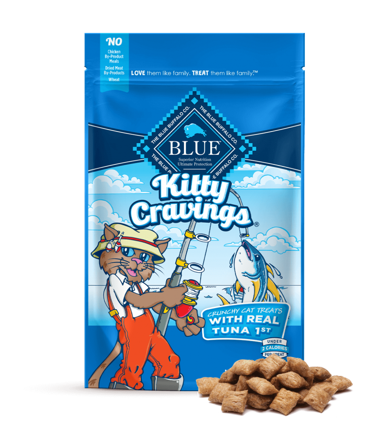 Blue Buffalo Kitty Cravings Crunchy Cat Treats With Real Tuna