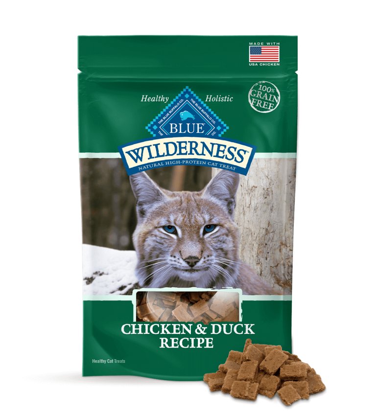 Blue Buffalo Wilderness Chicken & Duck Recipe Cat Treats