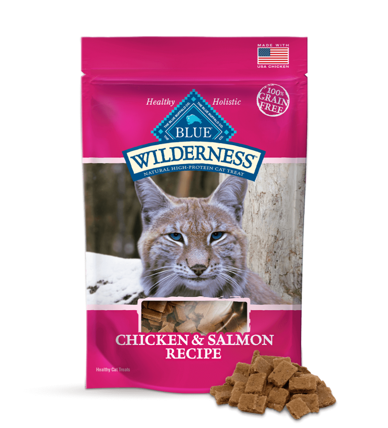 Blue Buffalo Wilderness Chicken & Salmon Recipe Cat Treats