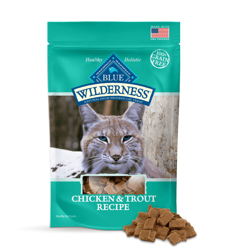 Blue Buffalo Wilderness Chicken & Trout Recipe Cat Treats