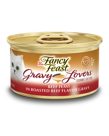Fancy Feast Gravy Lovers Beef Feast In Roasted Beef Flavor Gravy Wet Cat Food