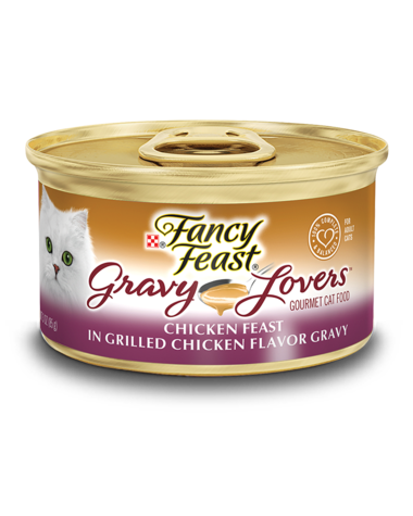 Fancy Feast Gravy Lovers Chicken Feast In Grilled Chicken Flavor Gravy Wet Cat Food
