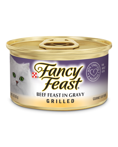 Fancy Feast Grilled Beef Feast In Gravy Wet Cat Food