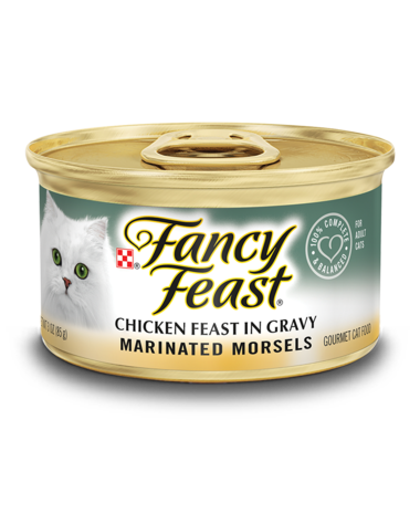 Fancy Feast Marinated Morsels Chicken Feast In Gravy Wet Cat Food