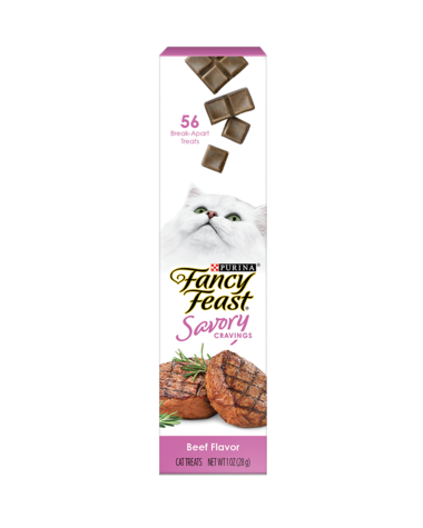 Fancy Feast Savory Cravings Beef Flavor Cat Treats