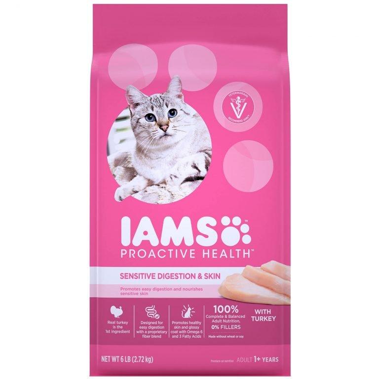 IAMS Proactive Health Sensitive Digestion & Skin Chicken Recipe Dry Cat Food