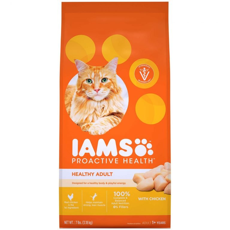 IAMS Proactive Health Healthy Adult With Chicken Dry Cat Food
