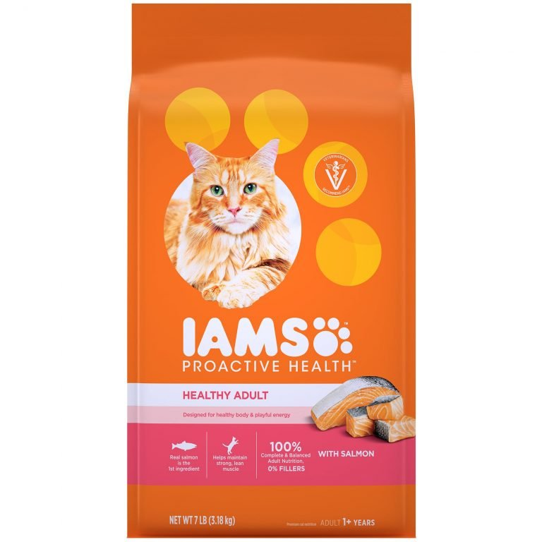 IAMS Proactive Health Healthy Adult With Salmon Dry Cat Food