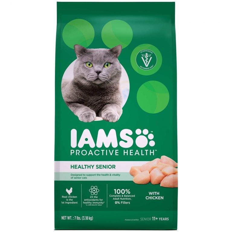 IAMS Proactive Health Healthy Senior Dry Cat Food