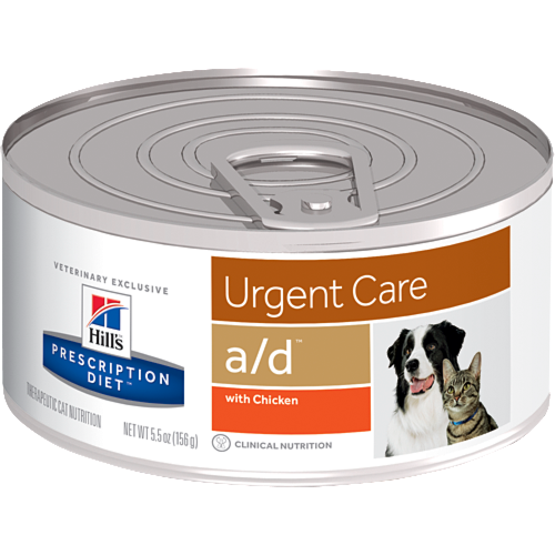 Hill's Pet Prescription Diet A/D Urgent Care With Chicken Wet Cat Food